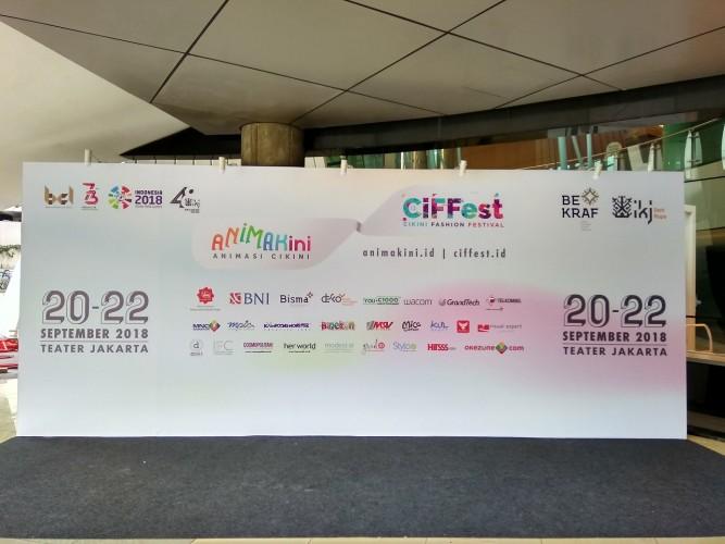Kolaborasi Animasi dan Fashion di Animakini & Ciffest 2018