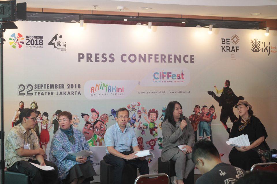 Animator dan Perancang Busana Kolaborasi di CIFFEST 2018